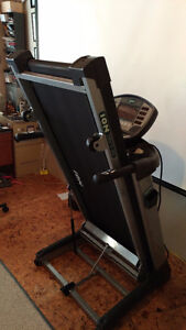 ION1807T-ME  Treadmill - folding, with built in LCD TV display