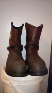 Red wing boots 2 pairs