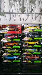 1:18 Die Cast Fast and Furious Collection ERTL Greenlight