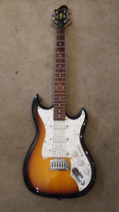 Hagstrom F300 Electric with hard case