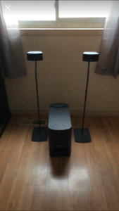 Selling my Bose system and Bose speaker stands