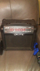 Ibanez arx 320 with case amp and amp cable