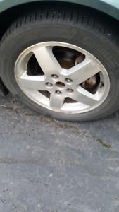 "Rims & Tires - 40,000km on Tires - 16"" Alloy Rims"
