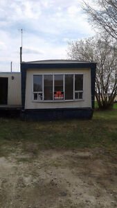 Mobile home with 2 lot's For Sale (Yorkton Area)
