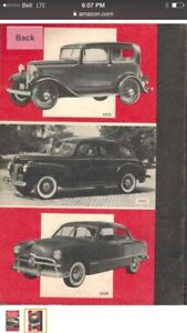 Antique Ford Owners Handbook