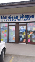 Dry cleaners-  The clean Shoppe