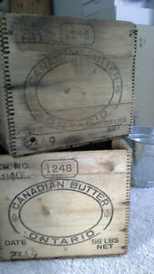 Canadian Butter Boxes, Ontario Stratford Kitchener Area image 1