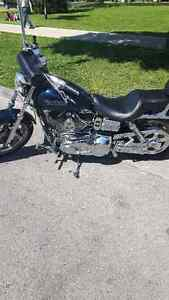 2001 dyna superglide with ss top end $7500 or best offer London Ontario image 7