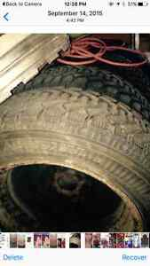 Winter tires 5 bolt pattern for sale!