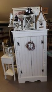HANDCRAFTED JAM CABINET