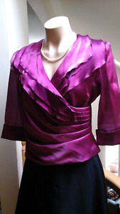 Two gorgeous tops - stunning for evening. Both medium (10-12)