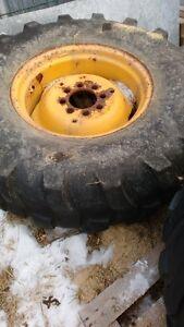 roues avec pneus