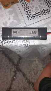 RECHARGEABLE  BATTERY NIMH 9.6 V FOR GYMS  & TOYES