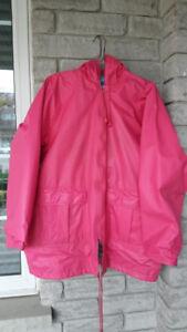 Thermal Slicks Rain Coat - size small (fits medium)