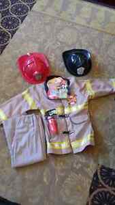 Fireman costume small - Excellent condition