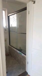 50 Inch Sliding Glass Door For Bathtub/Shower