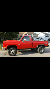 Red Chevy short box