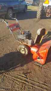 MTD Snowblower 8/26