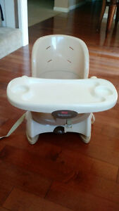 Fisher-Price Space Saver High Chair and Toys