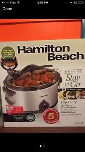 Brand new slow cooker