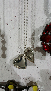 Necklaces, Rings, Earrings, and Locket
