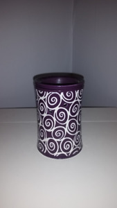 Purple full-size scentsy warmer