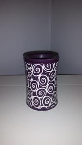 Purple full-size scentsy warmer