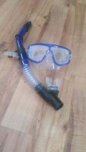 Aqua lung snorkel