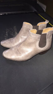 Leather Ankle boots sz 7.5