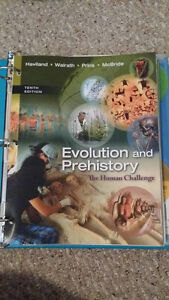 Evolution and Prehistory 10th edition