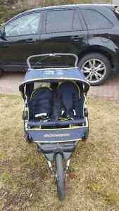 Schwinn Double Seat Stroller