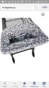 Grocery cart cover/highchair cover