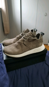 adidas NMD_C2 Shoes (Brown Suede)