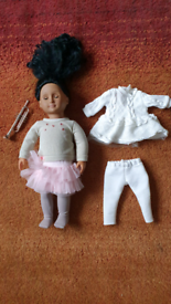 Our generation doll Two Outfits Clothes Fashion Notes Vgc Og jumper sk