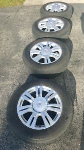 2011 Cadillac SRX OEM rims and tires