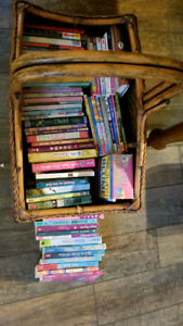 Lot of 70 books for girls age 8-12