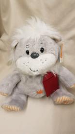 NEW Soft Toy Grey Cuddly Bear