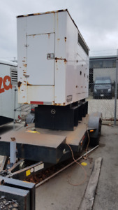Towable Trailered Used 80kw Generator