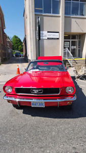 Classic 1966 Mustang Convertible 6 Cylinder