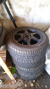 Civic p195 60 r14 tires and rims
