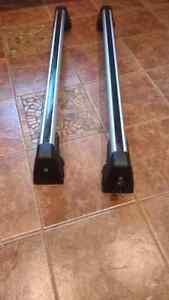 Barres de toit et support vélo bmw x1
