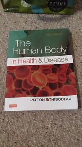 The Human Body In Health And Disease 6th edition  & Study Guide