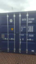 Storage container self storage unit