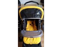 Pushchair: comfortable and in very good condition.