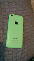 Iphone 5C with broken screen PRICE REDUCED
