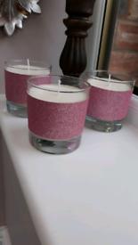 Bubble Gum fragranced candles