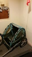 INStep 2 seat bicycle trailer