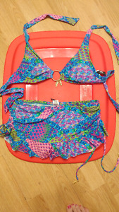 New Bathing Suit-with Pretty Charms
