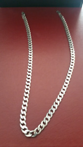Mens Sterling Chain