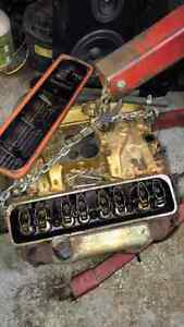 SBC H/O heads and intake from 1987 camaro z-28